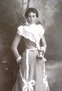Louisa Emeline (Dunning) Gleason - ca. 1880 (photo courtesy Edas Weseman)