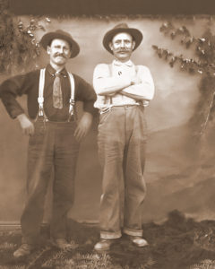 l-r: Frank H. Carey Sr. and F. George Frederiksen (ca. 1914)