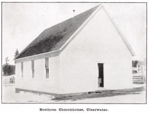 German Baptist Brethren Church - Teakean Idaho (ca. 1914)