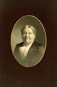 Emma Webster (Brown) Harlan - (ca. 1900) (Chester County Historical Society - Photo Archives)