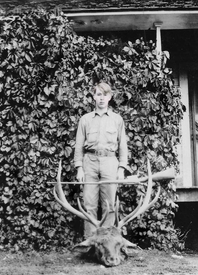 William M. Carey, son of William J. and Eunice (Mapes) Carey – restored by Debbie Bray