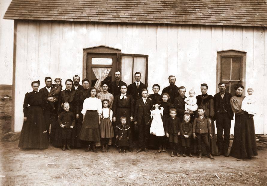 Gleason Family-G_H_Gleason_Funeral-1907, restored by Lisa Christman